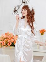 Comercio exterior mancha de sexo ropa interior fabricantes al por mayor de encaje sexy borde multicolor kimono albornoz Pijamas conjunto de belleza borracho