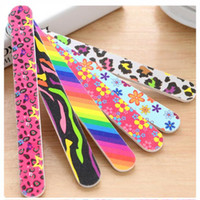 Professtiona EVA Nail Files Glass Nail File Colorful 7 Inch ...
