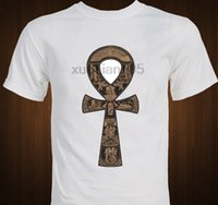 Ankh Symbol Egyptian Artifact ancient egypt T Shirt men casu...