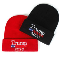 2020 Donald Trump Red Beanies Skullies Hat Keep America Grea...