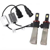 80W H1 H4 H7 H11 H13 9004 9005 9006 9007 Car LED Farol Lâmpada Conversion Kit Cree XHP-50 Lâmpada Lamp Branco 6500K