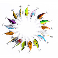 Floating Deep Diving Crank Bait Fishing Lures 14. 5g 10cm Lif...