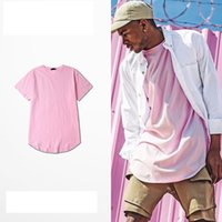 Fashion Clothing men Tshirt Tee extend hip hop summer short ...