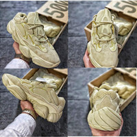 2018 Top Quality Desert Rat 500 DB2908 BLUSH DB2966 SUPER MOON GIALLO F36640 UTILITY NERO Oversize Bottom Dad Sneaker Scarpe con scatola da 500 Adidas yeezy yeezys yezzy boost