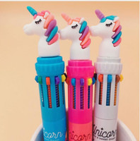 Dream Unicorn 10 Colors Chunky Ballpoint Pen School Office S...