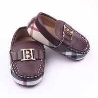Baby Moccasins PU Leather Boy First Walker Soft soled girls ...