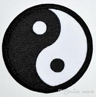 Tecido Yin Yang tao místico Patches Bordados Costurar ou Ferro Em Pano Camisa Chapéu sapatos Jean