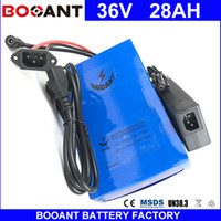 BOOANT 36V 28AH E- Bike Li- ion Battery pack for Bafang 1500W ...