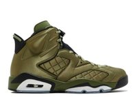 TOP Factory Version 6 Fly Green Jacket Basketball Shoes mens...