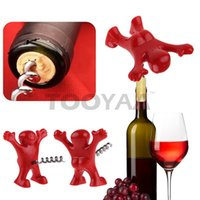 Happy Man Birra Wine Bottle Apri in acciaio inox Tappo tappo in sughero Vino Cavatappi Birra Soda Kitchen Bar Tools Regalo di nozze