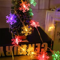 Waterproof String Lights Twinkle Snow Flake lighting Birthda...