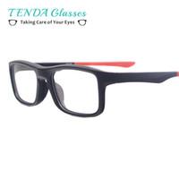6eb1a07d10068 Moda Leve Óculos de Armação De Plástico Homens Retros Óculos Esportivos  Para Prescrição Lentes Miopia Multifocal