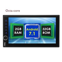 "Octa-core Android 7.1 Nougat vídeo do carro Car Stereo 7 ""Capacitiva Touchscreen 2 Din Autoradio Bluetooth Controle de Volante rádio estéreo"