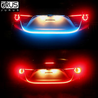 Car Styling Turn Signal Amber Flow Car LED strip trunk Tail ...