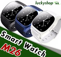 M26 Smartwatches Bluetooth Smart Watch per Android Cellulare con display a LED Music Player Pedometro per iPhone in confezione da 20 pezzi