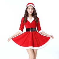 Wholesale Sexy V Collar Soft Comfortable Christmas Costumes ...