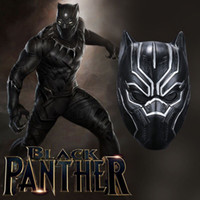 Adlut Movie Black Panther T ' Challa Superhero Mask Late...