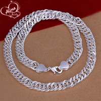 Fashion Silver Male Jewelry High Quality Silver Plated 10MM ...
