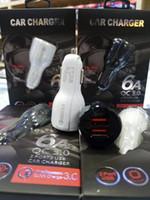 QC3.0 شحن سريع 3. 1A شاحن سيارة شحن سريع USB مزدوج شحن سريع شاحن الهاتف سامسونج أبل شاحن الهاتف المحمول العام