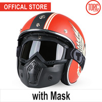 Casco moto vespa Bluetooth vintage open face 3/4 casco visiera interna motocross jet retro capacete casque moto T57