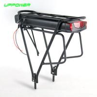 США ЕС Нет Tax Электрического велосипеда 36V 10Ah 13Ah Задняя Rack Батареи для Bafang BBS01 BBS02 Ebike Батареи + двухслойного Багажника