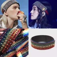 2018 New Luxury Brand Headwrraps Striped Hair bands Full col...