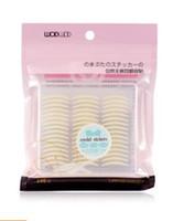 Al por mayor-SAF caliente 5 Hojas de 120 pares de maquillaje invisibles etiquetas de cinta párpado doble de 24 mm x 2 mm