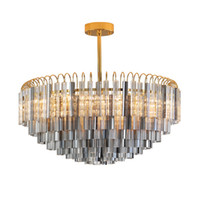 New crystal chandeliers post modern crystal lamps living roo...