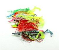 새로운 웜 Buzzbait 미친 및 롤 액션 baitfish 금속 철 미끼 20g 40g 60g 80g 100g 120g 150g 솜털 리드 미끼