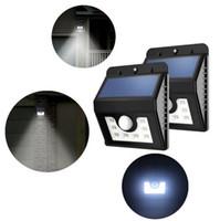 ماء 8 الصمام الأمن تعمل بالطاقة الشمسية ضوء البير استشعار الحركة الخفيفة الجدار مصباح لمسار السلالم حديقة في الهواء الطلق