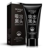 Bioaqua Facciale Blackhead Remover Deep Cleaner Mask Mask Mask Aspirazione Anti ACNE Trattamenti Nero Maschera testa 60G