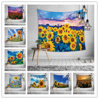10 Designs wall hang tapestry sunflower beach towel printing...