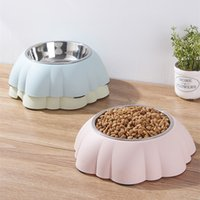 Pet Products Colorful Stainless Steel Dog Feeding Bowl Cat P...