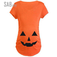 Short Sleeve Maternity clothes Fashion Maternity tshirt Casu...