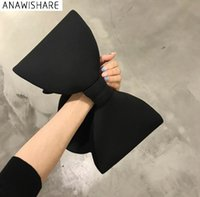 ANAWISHARE Designer Women Handbags Bow Day Clutches Bag Ladi...