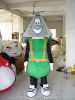 triangle mascot costume Free Shipping Adult Size, hat luxurio...