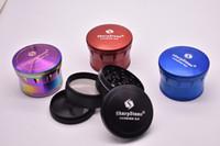حار على بيع rainbow شاربستون المطاحن عشب المطاحن التبغ شارب الحجر المطاحن 4 طبقات 60 ملليمتر شارب ستون الإصدار 2.0