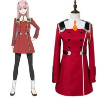 DARLING in FRANXX costume cosplay anime cosplay zero due marca per le donne costume set completi