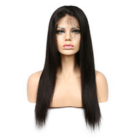 Straight Wig 250% Density Lace Front Human Hair Wigs Brazili...
