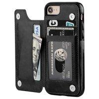 아이폰 (11) XS MAX 6 8 7 지갑 가죽 전화 케이스 카드 슬롯 슬림 다기능 폴리오를 들어 충격 방지 TPU 커버를 들어 삼성 스탠드