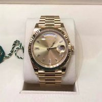 Limited Edition Mens Men' s 18kt Gold 36mm President - S...