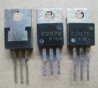 5 Pz / lotto C2078 2SC2078 3A 80 V NPN canale transistor ad alta frequenza USATO E RISTRUTTURATO MA IN BUONE CONDIZIONI DI LAVORO