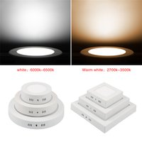 6W 12W 18W 25w 30w Round Square Led Dimmable Surface Mounted...