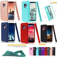 Armor Case TPU + PC Hybrid 3 in 1 Matte Defender Case For Sa...