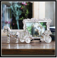 Classic Horse Carriage Photo Frames for Picture European Fot...