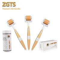 Anti-Aging 192 Stifte Titan-Nadel-Haut-Derma-Rolle ZGTS 192, die mit Serum für Hautpflege verwendet