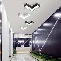 Modern Tavan Işık Ok Tavan Lambası Ultra ince 5 cm Geometri Minimalist Kreş Giriş Koridor Koridor Led aydınlatma armatürleri luminiare