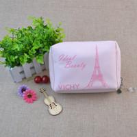 Новое прибытие точка косметический макияж сумки случаи коробки дешевые женские макияж сумки большой емкости портативный хранения путешествия макияж сумки случаи
