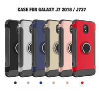 سوبر الجودة 360 ألياف الكربون ل فون 7 ل sam-sung s8 j7 2018 غطاء مقاومة للكسر غطاء سيارة الحالات المغناطيسي صدمة