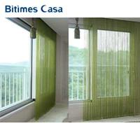Wholesale White Bedroom Blinds Online   Solid Color Decorative String  Curtain Cm Black White Beige Classic